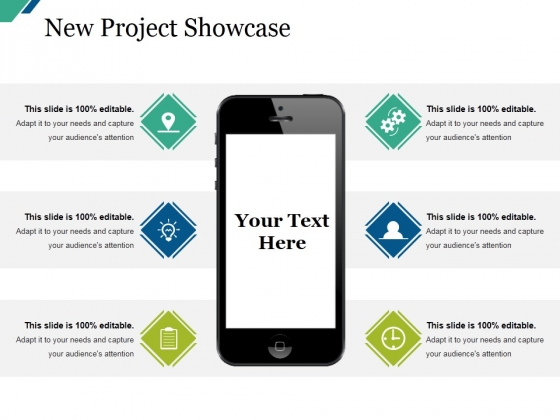 New Project Showcase Ppt PowerPoint Presentation Icon Example