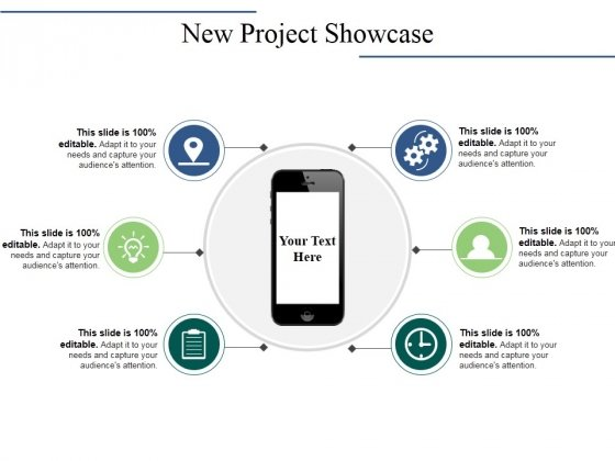 New Project Showcase Ppt PowerPoint Presentation Summary Model