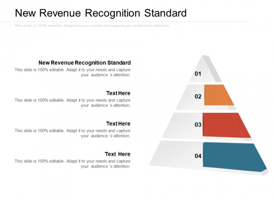 New Revenue Recognition Standard Ppt PowerPoint Presentation File Rules Cpb Pdf