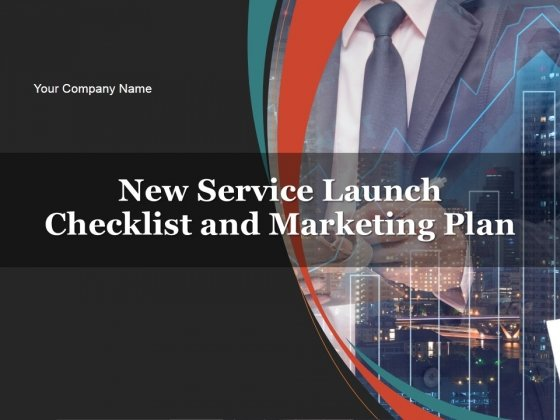 New Service Launch Checklist And Marketing Plan PowerPoint Presentation Complete Deck With Slides