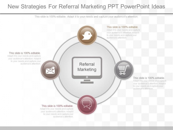 New Strategies For Referral Marketing Ppt Powerpoint Ideas