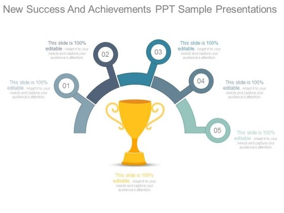 New Success And Achievements Ppt Sample Presentations
