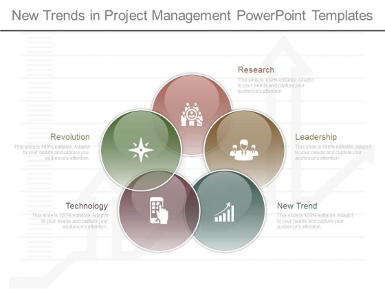 new trends in project management powerpoint templates - powerpoint, Modern powerpoint