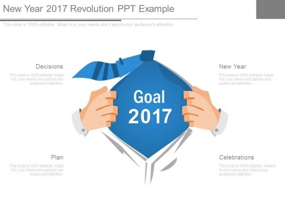 New Year 2017 Revolution Ppt Example