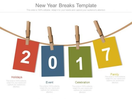 New Year Breaks Template