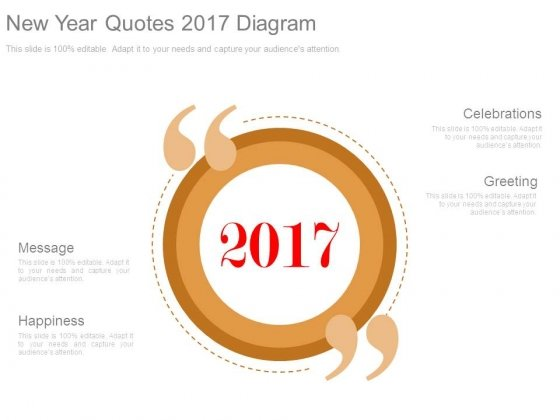 New Year Quotes 2017 Diagram