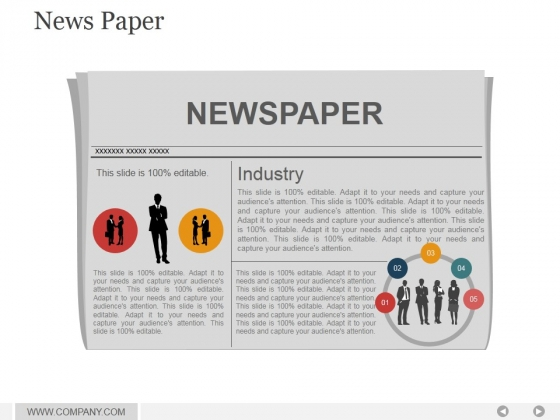 News Paper Ppt PowerPoint Presentation Background Image
