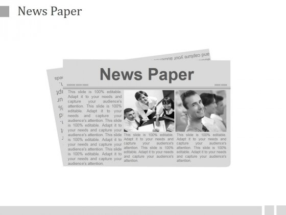 News Paper Ppt PowerPoint Presentation Backgrounds