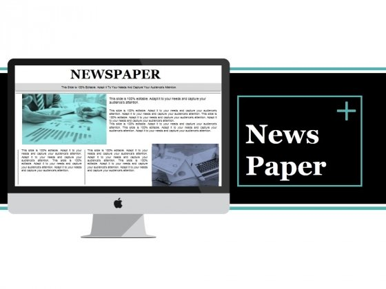 News Paper Ppt PowerPoint Presentation Inspiration Design Inspiration
