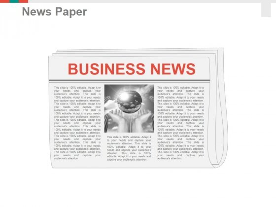 News Paper Ppt PowerPoint Presentation Inspiration Layout