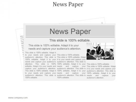 News Paper Ppt PowerPoint Presentation Inspiration