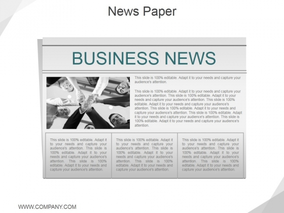 News Paper Ppt PowerPoint Presentation Layouts Layouts