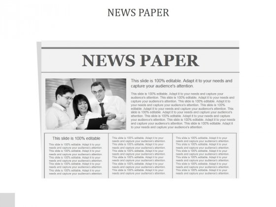 News Paper Ppt PowerPoint Presentation Picture