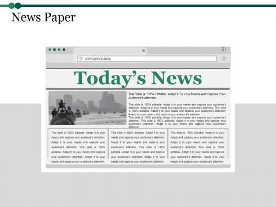 News Paper Ppt PowerPoint Presentation Pictures Gallery