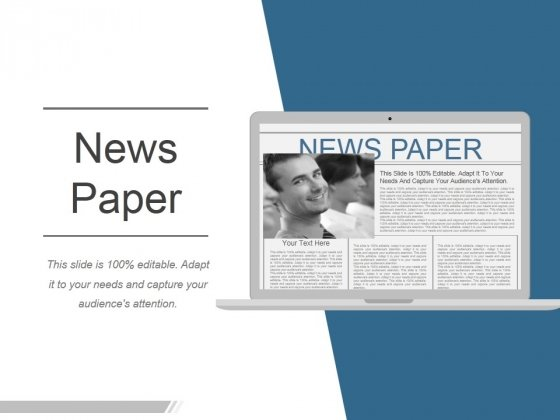 News Paper Ppt PowerPoint Presentation Pictures