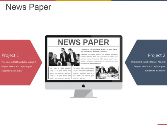 News Paper Ppt PowerPoint Presentation Show Clipart