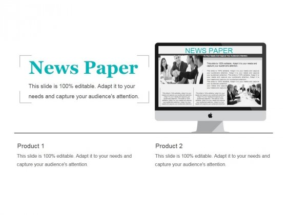 News Paper Ppt PowerPoint Presentation Styles Templates