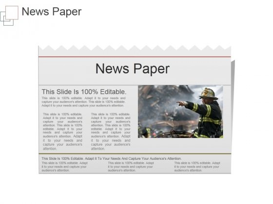 News Paper Ppt PowerPoint Presentation Templates