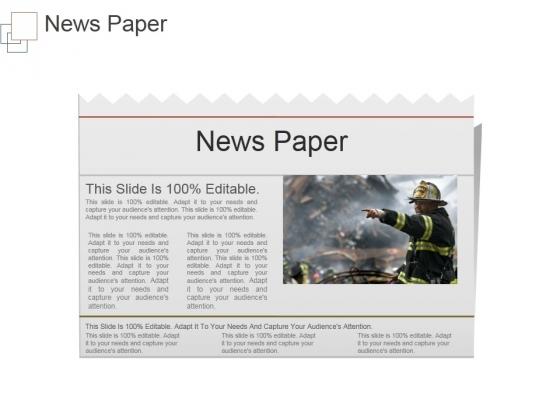 News Paper Ppt PowerPoint Presentation Templates