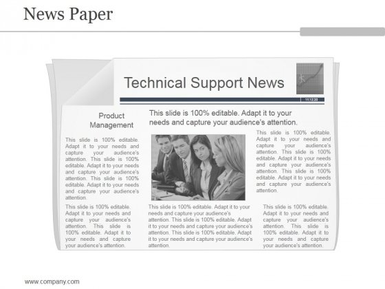 News Paper Ppt PowerPoint Presentation Tips