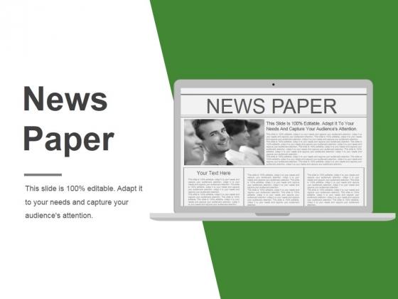 News Paper Ppt PowerPoint Presentation Visuals