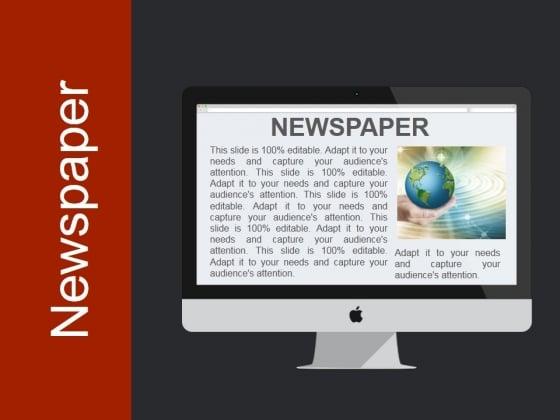 Newspaper Ppt PowerPoint Presentation Background Designs