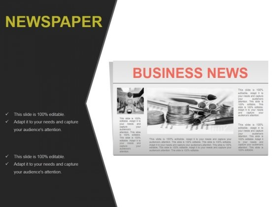 Newspaper Ppt PowerPoint Presentation Background Image