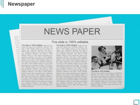 Newspaper Ppt PowerPoint Presentation Background Images