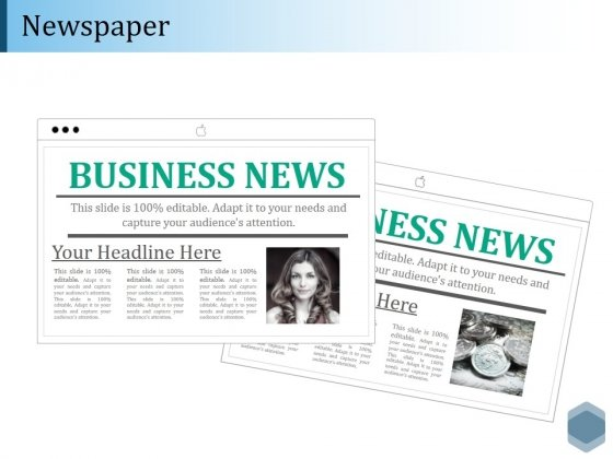 Newspaper Ppt PowerPoint Presentation File Example