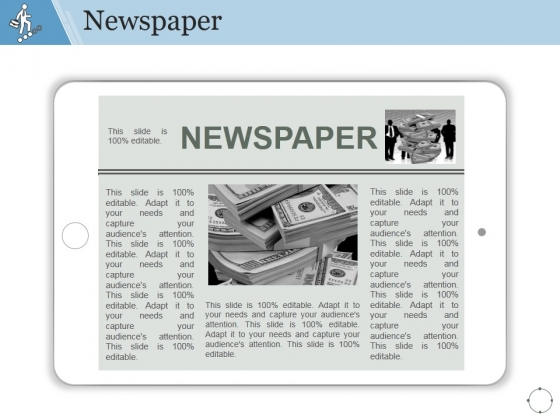 Newspaper Ppt PowerPoint Presentation File Guide