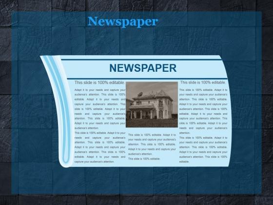 Newspaper Ppt PowerPoint Presentation Files