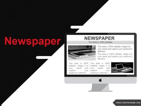 Newspaper Ppt PowerPoint Presentation Gallery Example Introduction