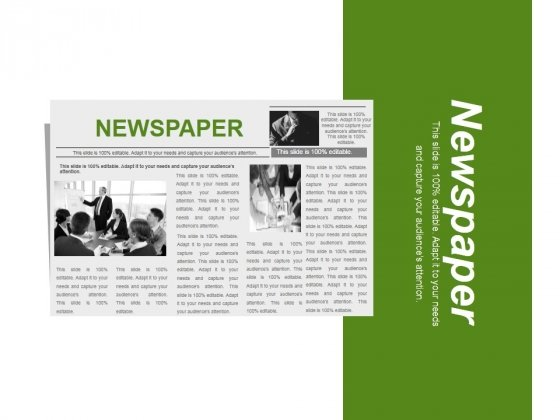 Newspaper Ppt PowerPoint Presentation Gallery Inspiration