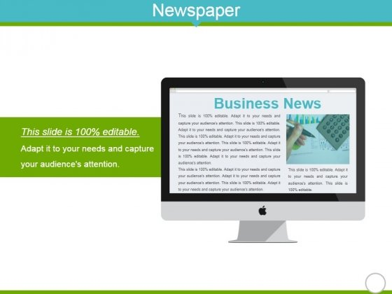 Newspaper Ppt Powerpoint Presentation Gallery Samples