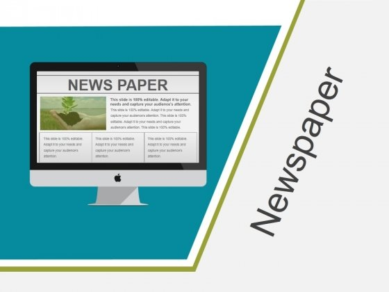 Newspaper Ppt PowerPoint Presentation Gallery