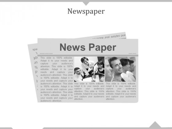 Newspaper Ppt PowerPoint Presentation Icon Designs
