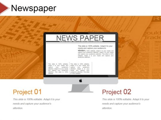 Newspaper Ppt PowerPoint Presentation Ideas Backgrounds