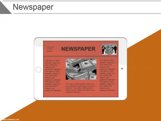 Newspaper Ppt PowerPoint Presentation Images