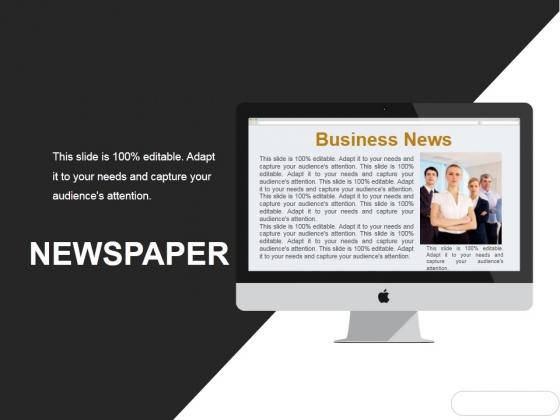 Newspaper Ppt PowerPoint Presentation Infographic Template Portfolio