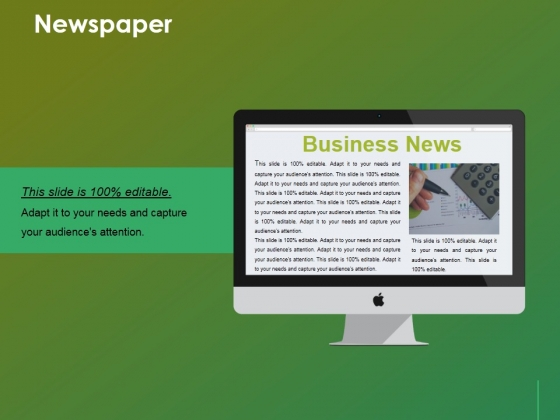 Newspaper Ppt Powerpoint Presentation Infographics File Formats
