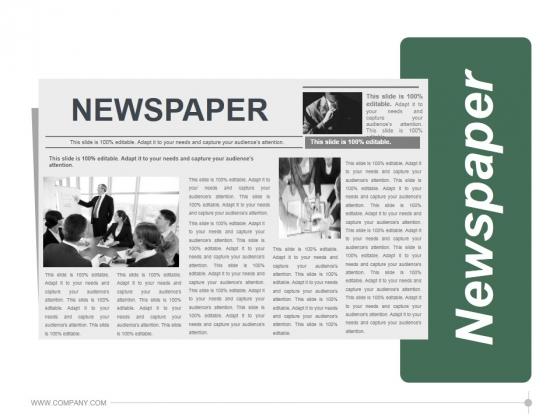 Newspaper Ppt PowerPoint Presentation Information
