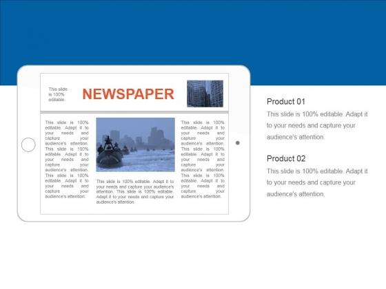 Newspaper Ppt PowerPoint Presentation Inspiration Clipart