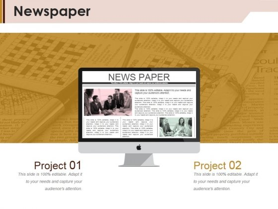 Newspaper Ppt PowerPoint Presentation Inspiration Slide
