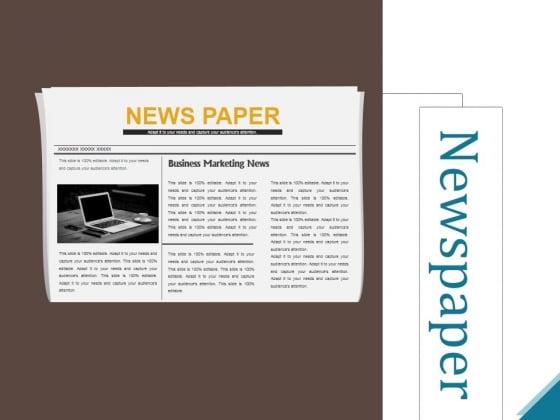 Newspaper Ppt PowerPoint Presentation Inspiration Slideshow