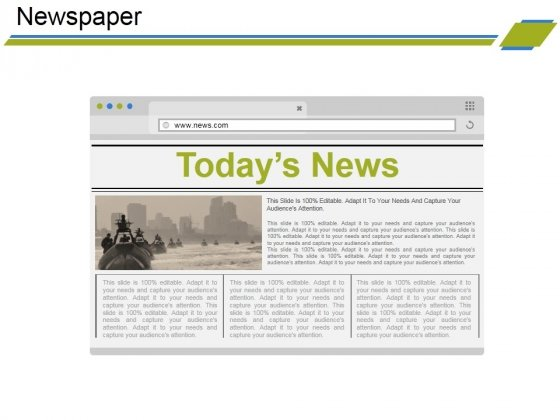 Newspaper Ppt PowerPoint Presentation Model Examples