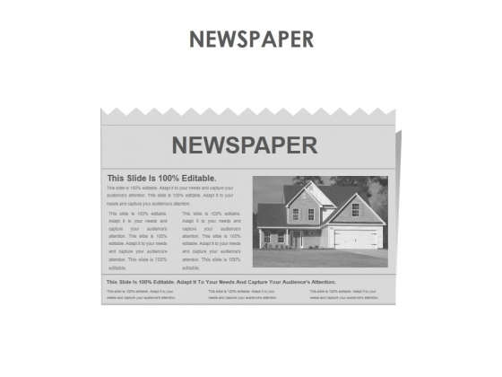 Newspaper Ppt PowerPoint Presentation Outline Diagrams