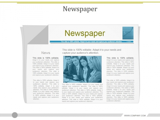 Newspaper Ppt PowerPoint Presentation Pictures File Formats