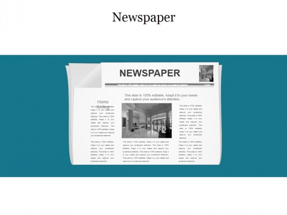 Newspaper Ppt PowerPoint Presentation Pictures Layout Ideas