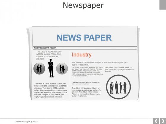 Newspaper Ppt PowerPoint Presentation Portfolio Gallery