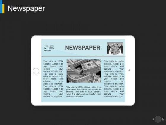 Newspaper Ppt PowerPoint Presentation Professional Ideas